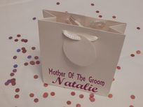 Mother Of The Groom Personalised Gift Bag